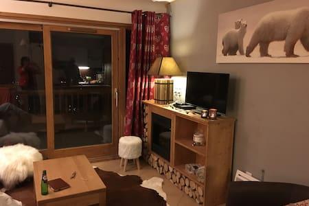 Bel appartement 6p. au pied des pistes - Sainte-Foy-Tarentaise - Flat