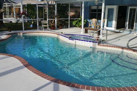 Pool house near beaches - Port Saint Lucie - Casa