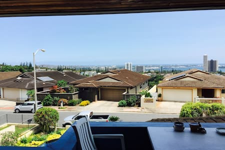 Pearl Harbor and ocean view home - Aiea - Talo
