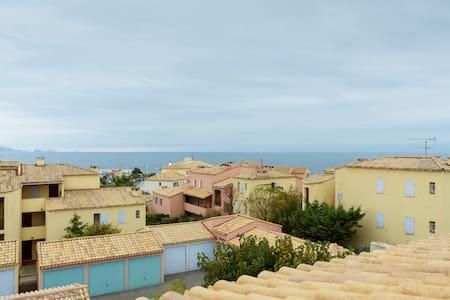 40m2 Terrasse Vue mer à 180°, à 100m de la plage - Sausset-les-Pins - Wohnung