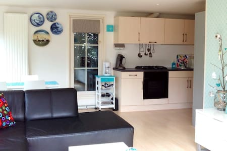 New holiday home (5p) Friesland, pool, free wifi - House