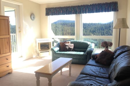 Mtn Retreat with amazing views of Strathcona Park - Comox-Strathcona C - Lyxvåning