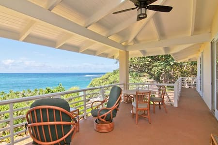 Moloa'a Bay Villa and Cottage - Kilauea - House