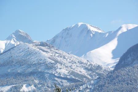 Le VERNET, T2 au calme, terrasse vue montagne - Seyne - Wohnung