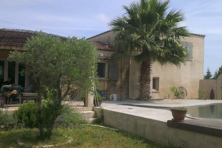 Villa proche Nîmes et Avignon - Manduel - Villa