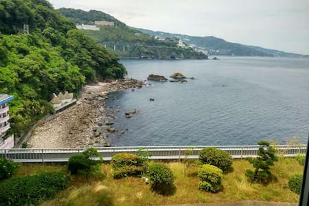熱海の天然温泉つきワンルーム!海が見える大浴場に入り放題です! - Atami-shi