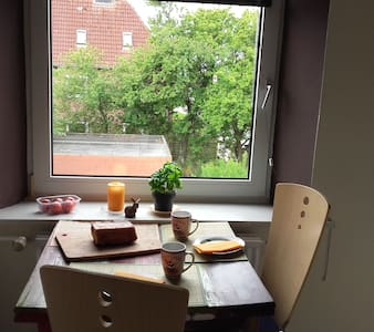Nette Unterkunft für Kurztripp - Husum - Apartment