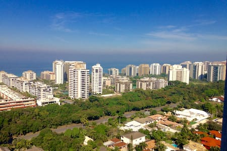 Clean & safe accommodation at the beach @ Barra - Rio de Janeiro - Apartment