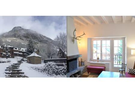 Casa con jardín en Unha (Baqueira) - Naut Aran - House