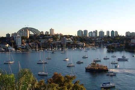 Beautiful Harbour Front Apartment - Neutral Bay - Wohnung
