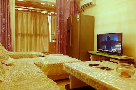 精装修高层豪华大床落地大飘窗风景公寓 - Xianyang - Huis