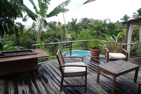 Villa de charme  à 100 m de la plage sur Poindimié - Villa