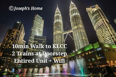 KLCC Area + Entire Unit + Trains - Appartamento