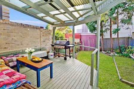 Double room in relaxed house, close to beach! - North Bondi - Maison