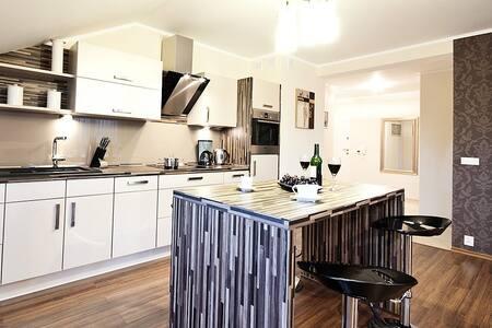 Apartament Bałtyk IV 2-pokoje max 6os. - Grzybowo
