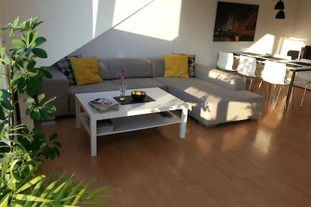 Ruhig und entspannt im Grünen - Apartamento