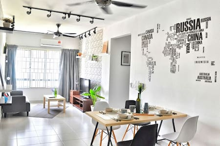 Scandinavian Apartment @ Setia Alam - Apartment