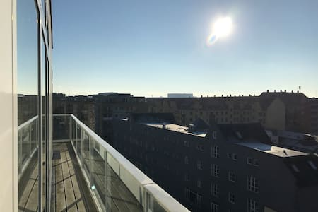 Penthouse, Copenhagen City (Islands Brygge) - København - Leilighet