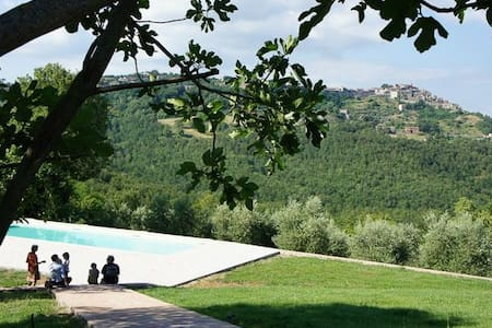 Castagnoli , great views, pool , olive groves - Appartement