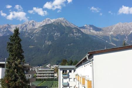 Einzimmerwohnung mit Blick auf die Nordkette - Innsbruck - Lakás