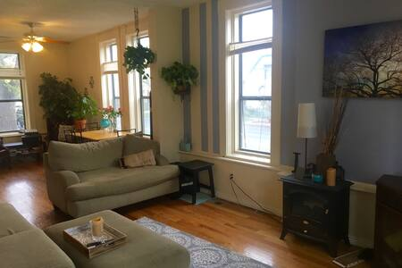 Room in sunny downtown town house - Denver - Apartment