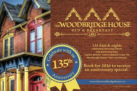 The Woodbridge House a heritage B&B - Szoba reggelivel