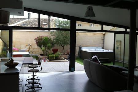Maison centre ville libourne avec garage et spa - Libourne - Loft