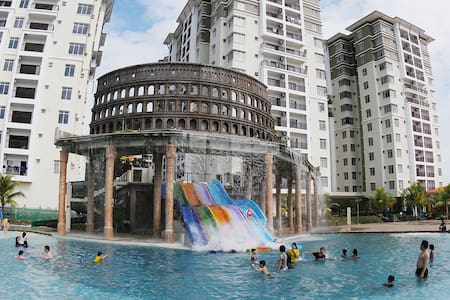 Studio Jacuzi-Bayou Lagoon Resort - Melaka
