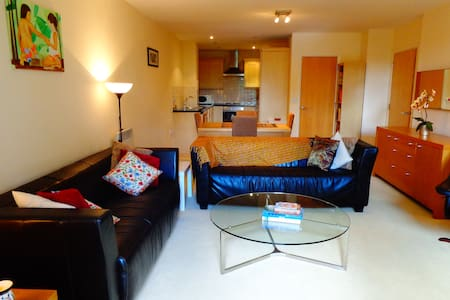 Spacious apartment, free wi-fi & 2 king size beds - Londen - Appartement