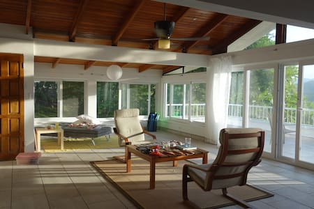 Casa Sonrisa - open floor plan and jungle views! - Nosara - Casa