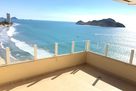 Penthouse In the Gold Zone - Mazatlán - Apartment