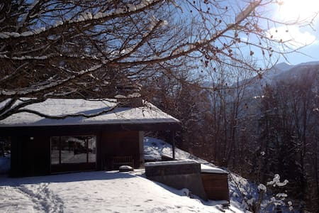 Luxury chalet with amazing views - Almhütte