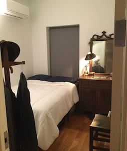 A newly renovated brownstone apartment in Clinton Hill one block from the C train.  Guests have easy access to JFK, downtown Brooklyn, Williamsburg, Manhattan, and all the arts, culture, food and drink in New York's hippest borough.