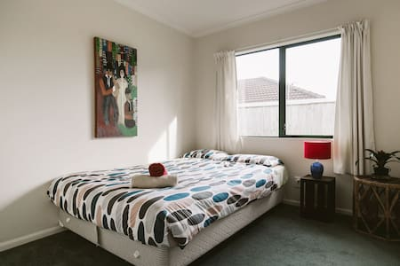 Cozy room near the airport #pickups - Auckland