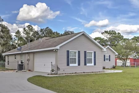 3BR Dunnellon House w/Private Fenced Yard - Dunnellon - Casa