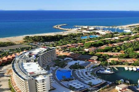 Villa con giardino 20mt mare wifi - Tonnarella - Villa