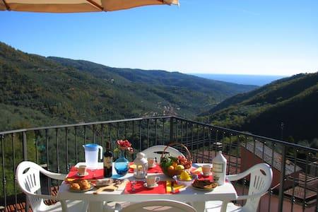 Il Mulino a Vento: Terrazza & Splendida Vista Mare - Appartement