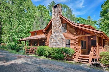 Creek Song - Rumbling Bald Resort - Blockhütte