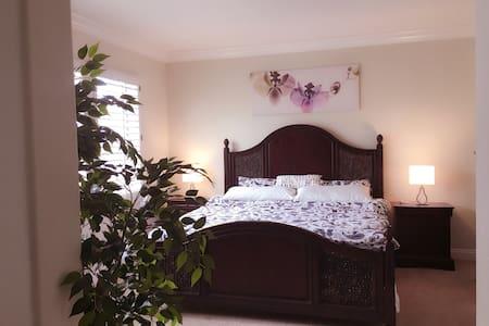 豪华主卧 master bedroom - Irvine