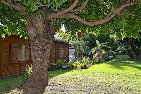 Gîte de Charme Les Arawaks dans un jardin tropical - Basse Terre - Ház
