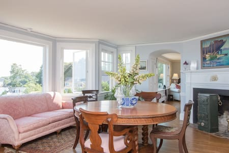 Private suite in seaside home - South Portland - Rumah