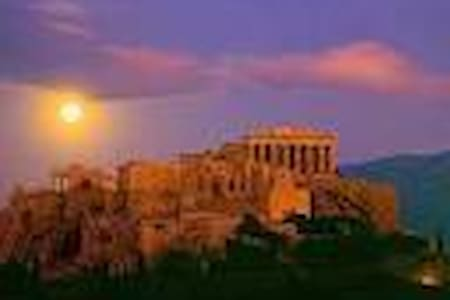 under the beauty of Acropolis - Athina