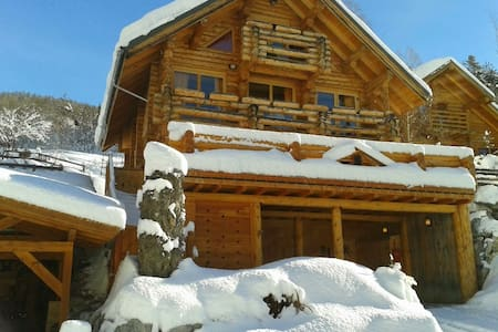 luxury chalet 500m  lift departure - Chalet