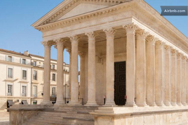 Nimes vacation rentals short term rentals airbnb - Jardin anglais terrasse nimes ...