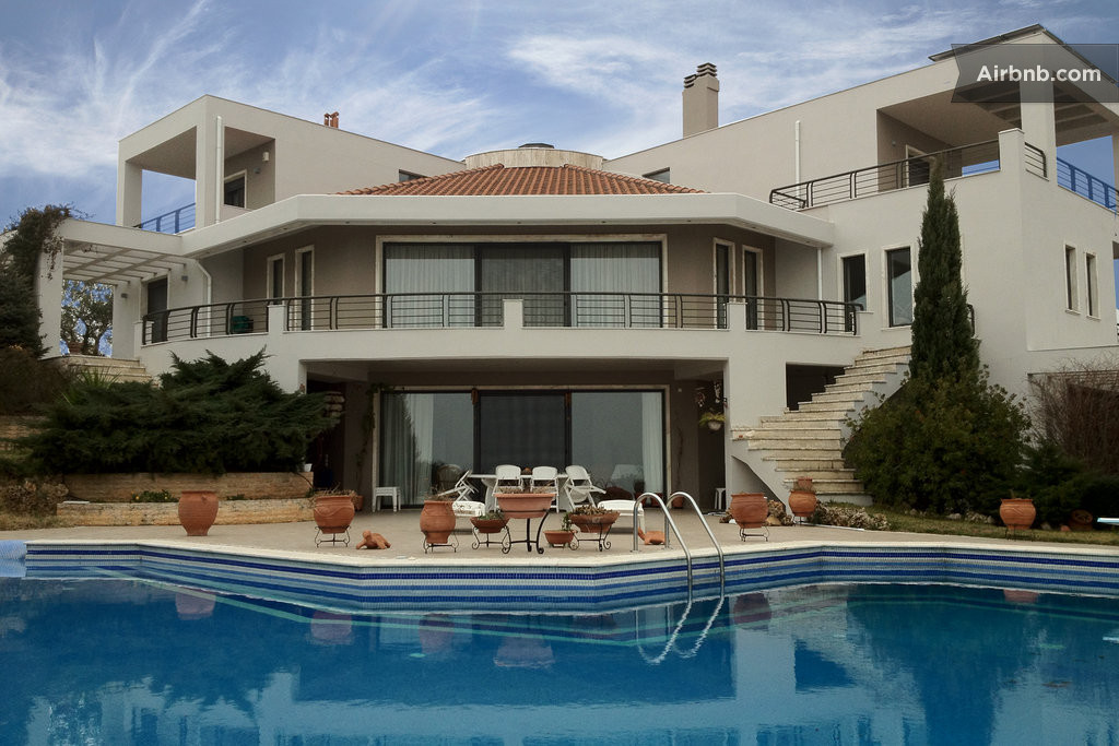 Thessaloniki vacation rentals short term rentals airbnb - Big mansions with pools ...