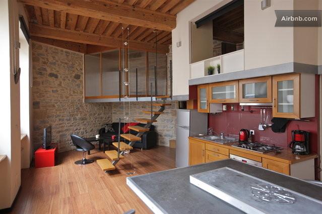 Appartement design au coeur de lyon lyon for Appartement design lyon