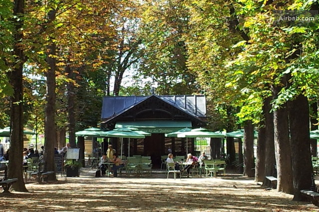 Jardin du luxembourg montparnasse in paris for Cafe jardin du luxembourg