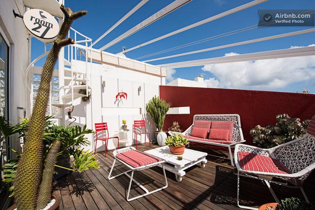 Tico de dise o terraza 40 m en st pere sta caterina el for Diseno de terrazas aticos