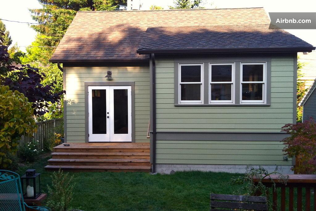 seattle backyard cottage queen anne in seattle