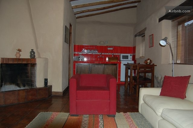 Beautiful bungalows sacred valley in cusco for Sala comedor kitchenette